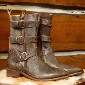 Bed Stu Blanchett Women's Leather boot 6 NWOB $297